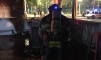 Unidades de bomberos atendieron la emergencia.