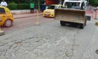 El estado de la malla vial del Distrito es lamentable.