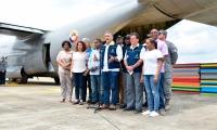 El presidente Iván Duque llegó este domingo al Chocó.