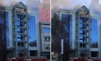 Hombre se lanza de edificio en México