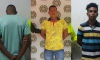 Los tres capturados deberán responder por delitos sexuales contra menores de 14 años.