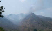 El incendio se presentó hace seis días y el pasado martes lograron controlarlo.