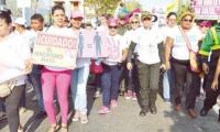 Marcha día de la mujer