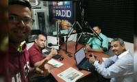 Equipo de trabajo del Magazin informativo de Unimagdalena Radio
