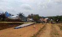 Según medios de comunicación del Meta, se precipitó a tierra en la vereda La Bendición y se incendió.