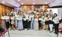 La Universidad del Magdalena entregó reconocimientos a las mujeres que fueron elegidas por la comunidad universitaria como las Mujeres Unimagdalena, por su trayectoria, entrega y compromiso.