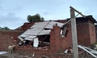 Cerca de 500 casas resultaron afectadas.