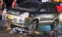 Accidente en la Troncal del Caribe, a la altura de Río Frío.