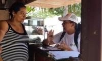 Funcionarios de la Empresa de Desarrollo Urbano socializan proyectos de la ciudad