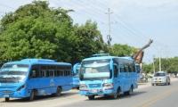 En Santa Marta no se ha aumentado el costo del pasaje de bus desde 2017.