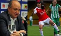 Jorge Enrique Vélez dio a conocer que continuará la Liga.