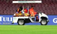En pleno partido David Ospina se desmaya