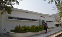 El puesto de salud de la Candelaria ya está terminado, pero aún no es puesto en servicio.
