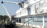 Durante el desarrollo del proyecto se intervendrán 4.2 kilómetros de red y se instalarán 130 postes