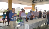 El alcalde de Santa Marta, Rafael Martínez.
