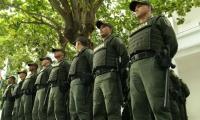 60 hombres arribaron a reforzar la seguridad en Santa Marta.