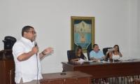Edilson Palacio, contralor Distrital de Santa Marta