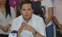 Adolfo Torné, alcalde (e) de Santa Marta.