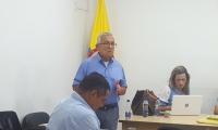 Secretario de Gobierno, Adolfo Bula.