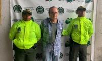 Thomas Michael Renno, capturado en el aeropuerto de Rionegro, Antioquia.