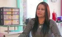 Consuelo Martínez, viuda del cacique