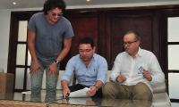 El alcalde Rafael Martínez firmó el Pacto por el Agua el pasado 31 de octubre.