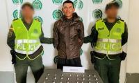 Edward Ramírez Peñaloza, capturado con 50 dosis de Bazuco