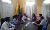 Electricaribe se reunió con representantes de la Alcaldía de Ciénaga.