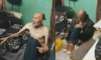 Abuelos fueron rescatados en casa con pésimas condiciones de higiene
