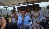 El exalcalde de Santa Marta, Carlos Caicedo.