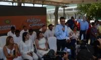 Carlos Caicedo y el gabinete popular de Fuerza Ciudadana.
