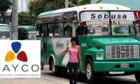 Transporte público piensa retirar radios en Barranquilla