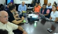 Este viernes se llevó a cabo una reunión para afrontar la crisis de agua que vive la ciudad.