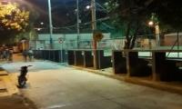 San Jorge, barrio donde murió un joven este sábado