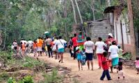 Sigue el desplazamiento en el Chocó, por cuenta de los combates entre grupos armados.