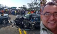 Miguel Sierra Rolong, de 62 años, murió en el accidente.