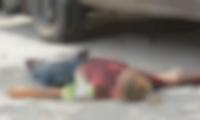 Hombre asesinado en La Lucha.