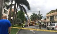 Lugar de los hechos en Medellín