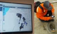 Tecnología  de punta para proceso de  lectura de medidores de agua