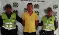 Andrus de León Cordero, de 18 años, fue capturado en Guamal, Magdalena.