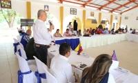 Las acciones contempladas, fueron construidas con el propósito de garantizar los derechos de las víctimas del conflicto armado en esta parte del país.