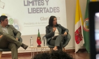 presidenta de la Corte Constitucional de Colombia, Gloria Stella Ortiz