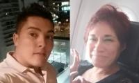 Juan Valderrama e Ilse Amory.