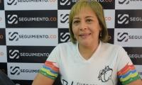 La aspirante a la Alcaldía de Ciénaga Blanca Fernández