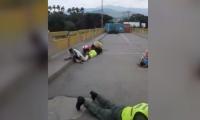 Miedo y terror en medio de balacera en la frontera colombo-venezolana