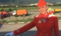Tatyana Kasatkina, auxiliar de vuelo