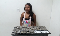 Mujer capturada por venta de drogas