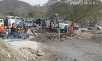 Control de fuga de aguas residuales en El Rodadero