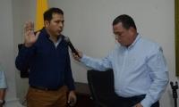 Luis Manuel Paredes tomó posesión en el Concejo Distrital.