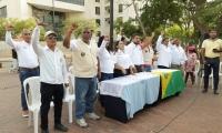 Pronunciamiento de miembros de Juntas de Acción Comunal de Santa Marta